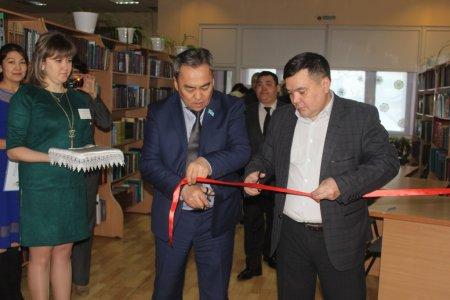 Открытие базового помещения для проведения массовых мероприятий в рамках программы «Рухани жаңғыру»